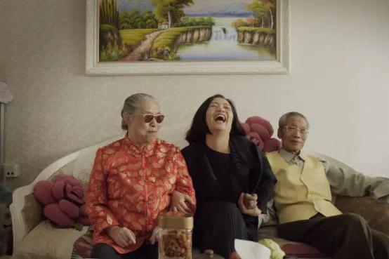 Guo Pei & family
