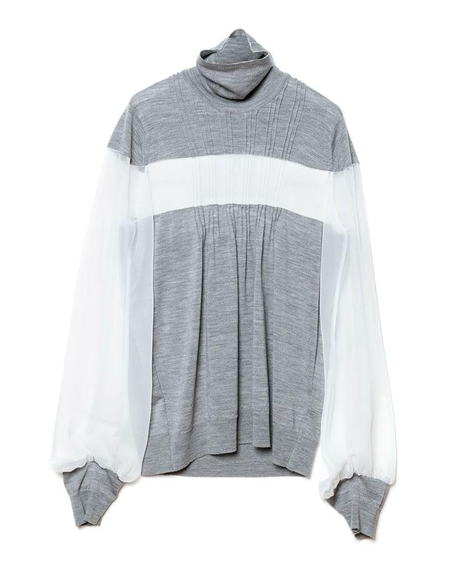 Sacai X John Smedley sweater