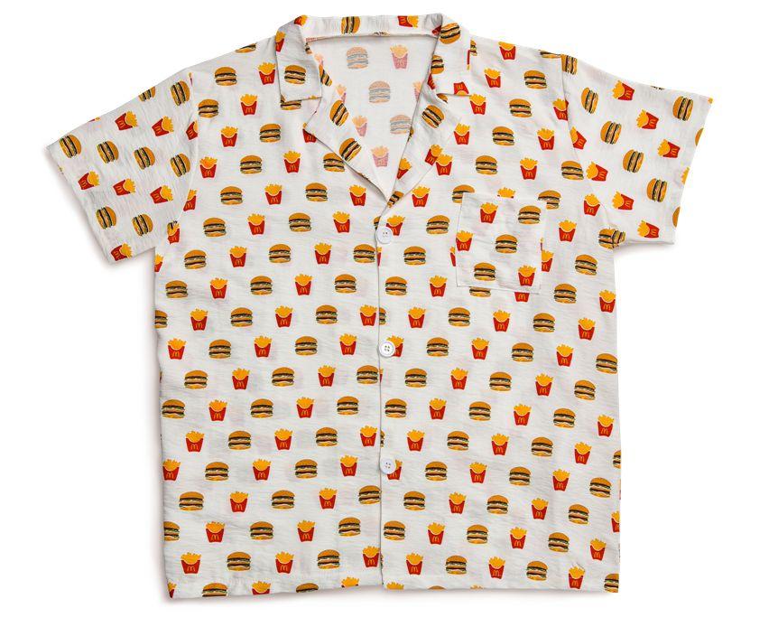 McD pajama top