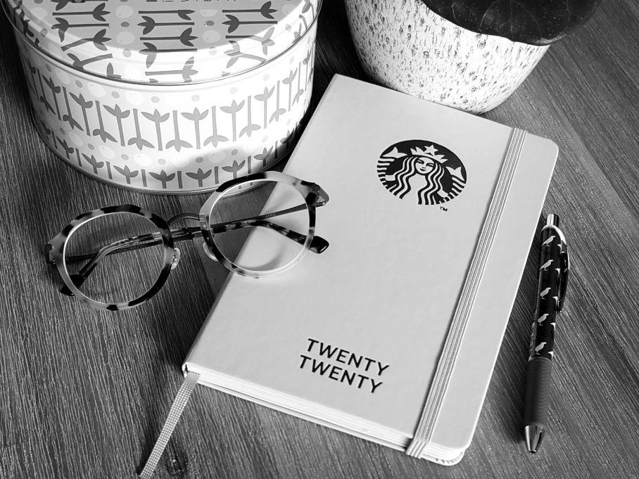 Starbucks X Moleskin 2020 planner