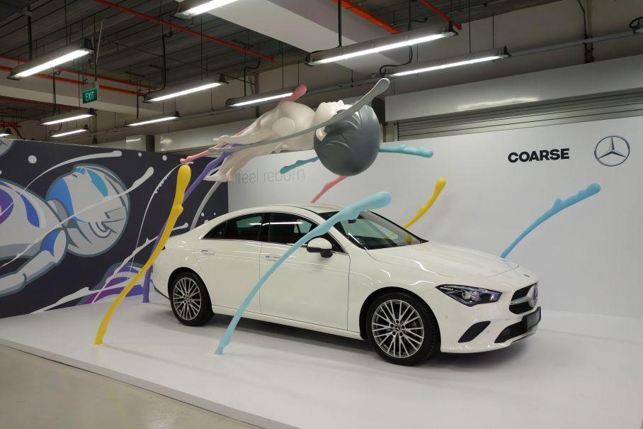 Mercedes Benz X Coarse installation
