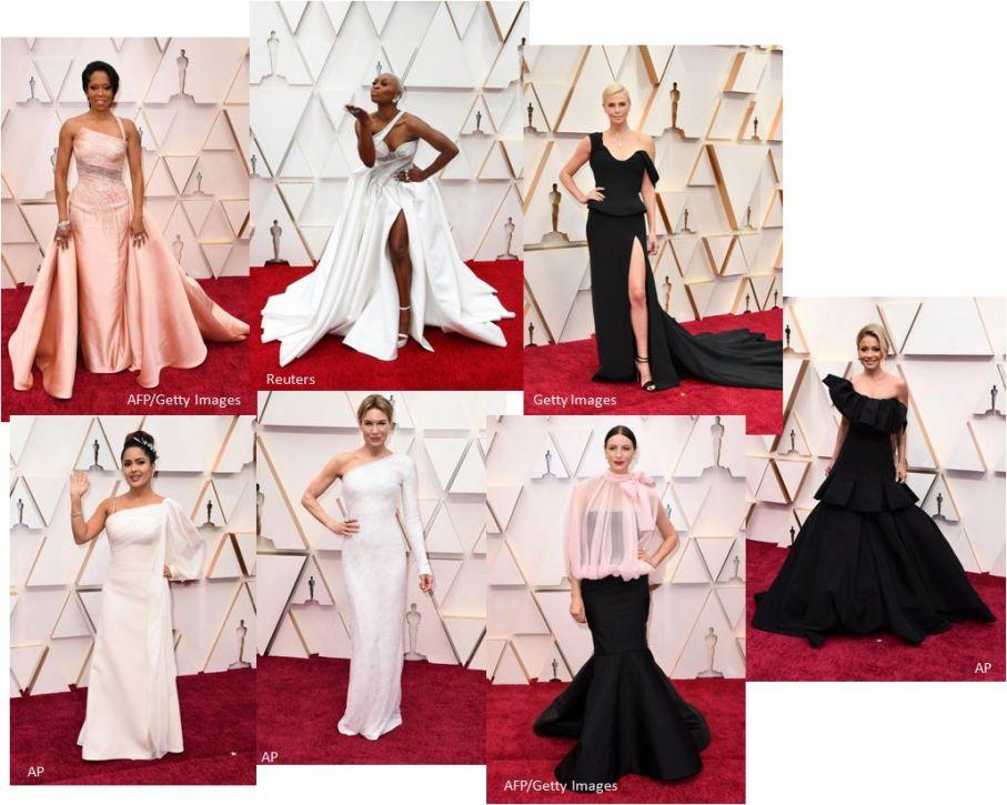 Oscar 2020 One Shoulder