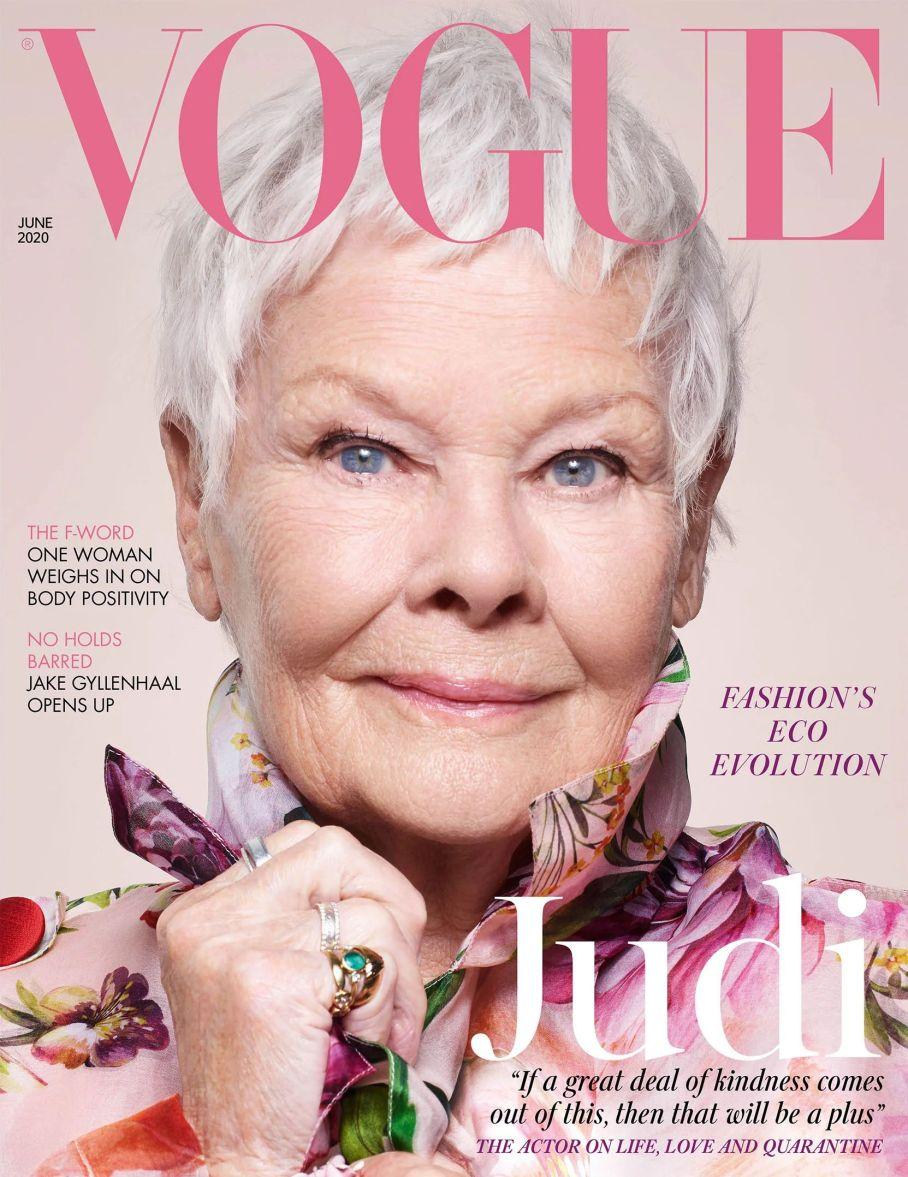 Judi Dench Vogue May 2020