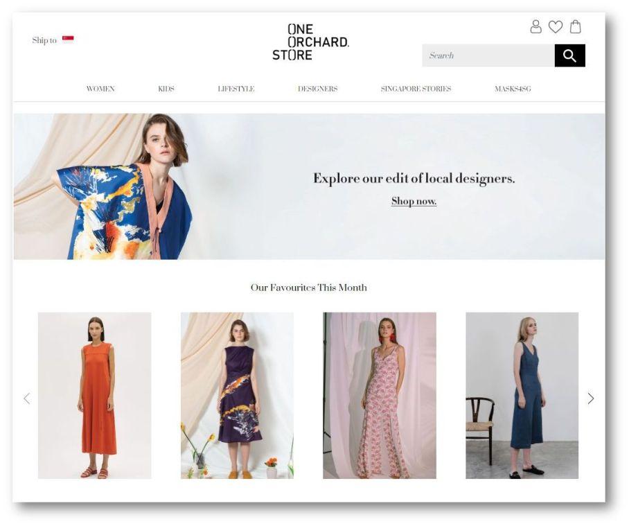 OOS homepage June 2020