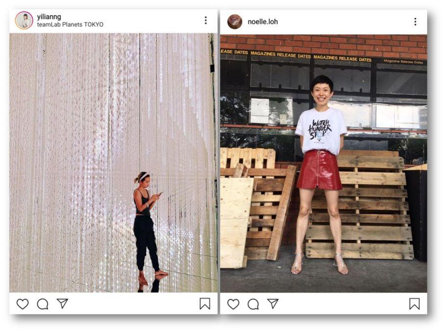 Yilianng and Noelle Loh